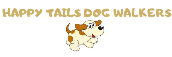 Happy Tails Dog Walkers Logo